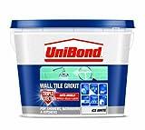 UniBond - 1L di Malta liquida per piastrelle, tripla protezione anti-muffa, colore: Bianco