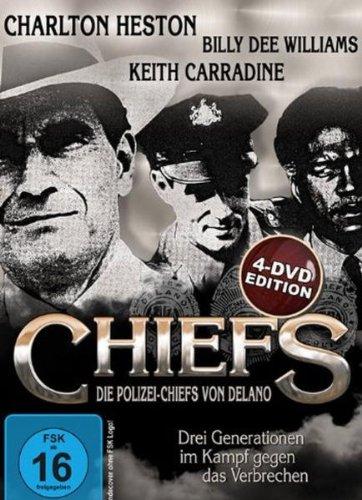 Chiefs - Die Polizei-Chiefs von Delano - Mini-Serie + internationale Kinofassung [4 DVD Edition]