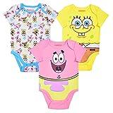 Nickelodeon's Spongebob 3 Pack Short Sleeve...