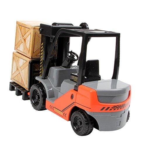 Sharplace 1:22 Modelo de Coche Vehículos Carretilla Elevadora Juguete en Miniatura para Niños