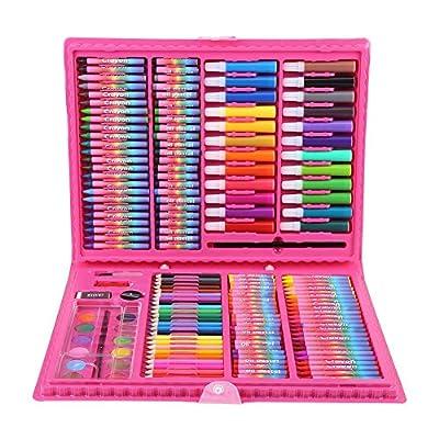 Art Drawing Colored Pencils Set, 168 Pcs Premium Children Drawing Colored Pencil Kit, Professional Water Colour Pen Set For Painting Supply