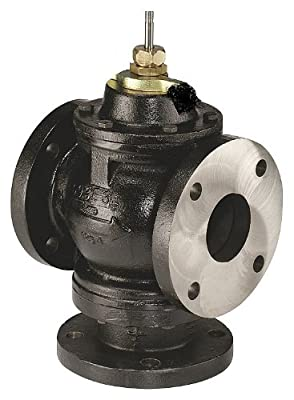 Johnson Controls - VG2831WN - Globe Valve, 3-Way Mixing, 5 In, Flanged from Johnson Controls