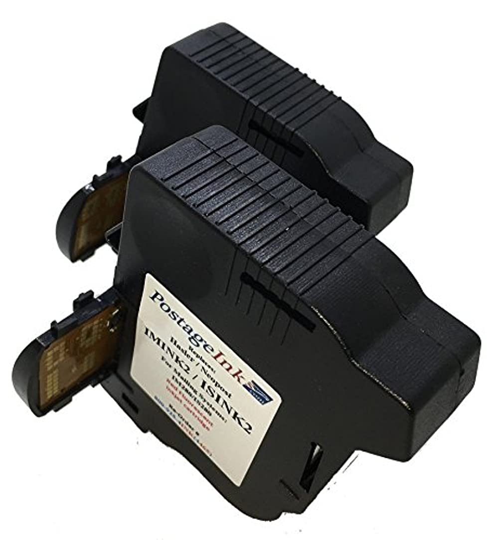 Neopost ISINK2 (2-Pack) Red Ink Cartridges compatible for Neopost IS280 Postage Meters.