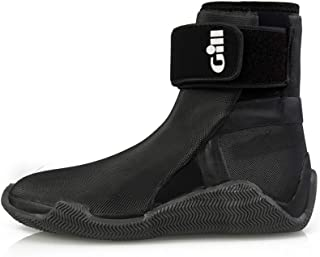 GILL Men's Fishing Boating Waterproof Lace Up Rubber Edge Boots
