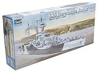 トランペッター 1/350 イギリス海軍モニター艦 HMS アバークロンビー プラモデル