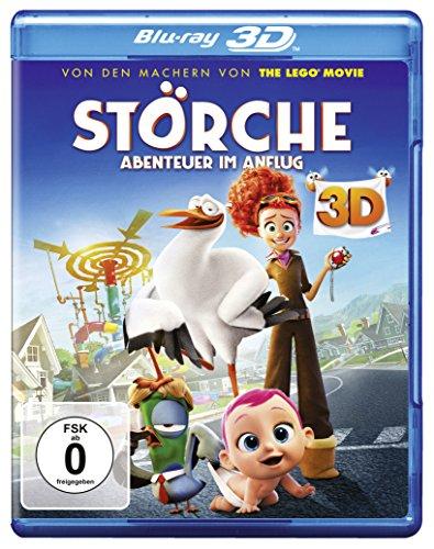 Störche – Abenteuer im Anflug [3D Blu-ray]