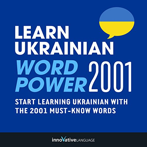 Learn Ukrainian - Word Power 2001 audiobook cover art