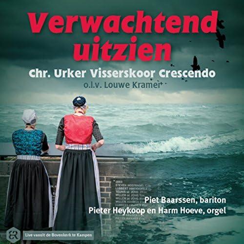 Chr. Urker Visserskoor Crescendo feat. Piet Baarssen, Pieter Heykoop & Harm Hoeve