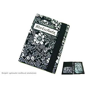 aufklappbare eBook Reader eReader Tablet Hülle schwarzweiße Flora, Maßanfertigung, z.B. für Kindle, Samsung Galaxy Tab…