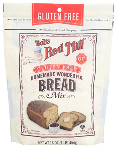 Bob's Red Mill Gluten Free Homemade Wonderful Bread Mix, 16 Oz
