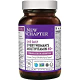 New Chapter Women's Multivitamin + Immune Support - Every Woman's One Daily 40+, Fermented with Probiotics + Vitamin D3 + B Vitamins + Organic Non-GMO Ingredients - 96 ct