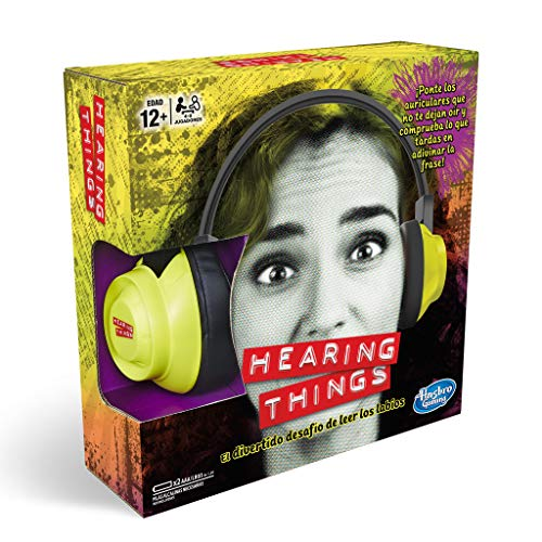 Hasbro Gaming - Juego de mesa Hearing Things (E2617105)