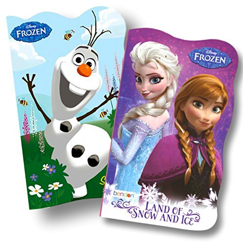 Disney Baby Toddler Board Books - Bundle of 2 (Disney Frozen Board Books)
