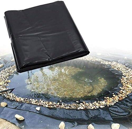 jxgzyy 20 Mil Rubber Pond Liner 16 4 ft x 19 7 ft HDPE Black Pond Skins Liner for Fish Ponds product image