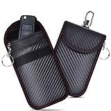 ferlord Keyless Go Schutz Autoschlüssel Hülle 2 Pack,RFID Funkschlüssel Faraday Tasche