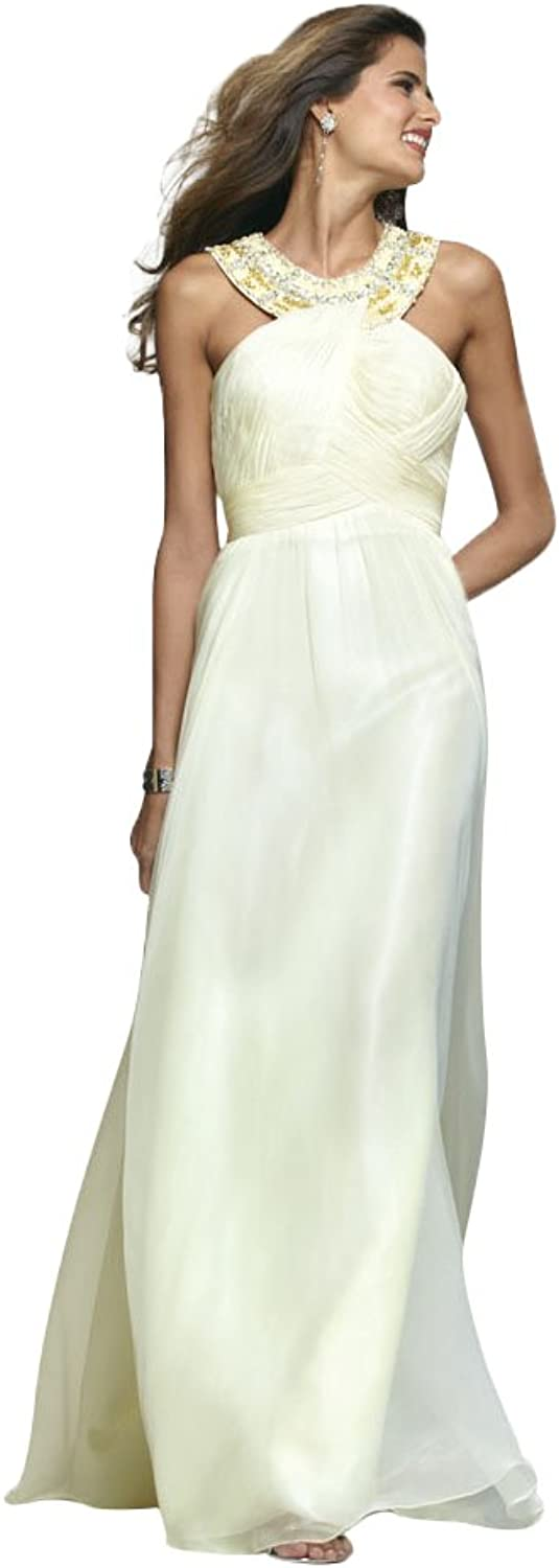 Clarisse Grecian Style Long Evening, Formal, Prom and Graduation Dress 2107