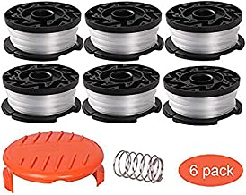 Thten String Trimmer Spool Replacement for Black and Decker AF-100, 30ft 0.065