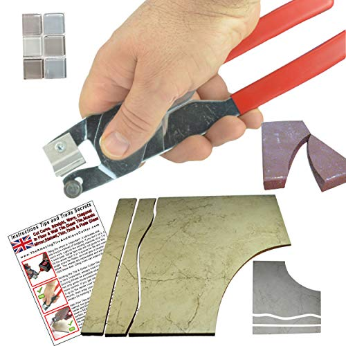 The Amazing Tile And Glass Cutter Made In UK Cuts Shapes in Ceramic Tile Glass Tiles and even Many types of Porcelain Tiles