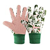 Gardening Gloves for Women(2 Pairs) Comfortable Breathable Non-Slip Flexible....
