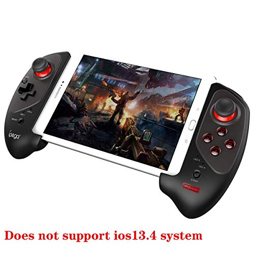 ipega-PG-9083S Wireless 4.0 Joystick Gamepad Controller Mobile for Samsung Galaxy S10/S10+ /S20 S20+5G/Huawei P40 Pro P30 P30 Pro Mate Android Mobile Smartphone Tablet (Android 6.0 Higher System)