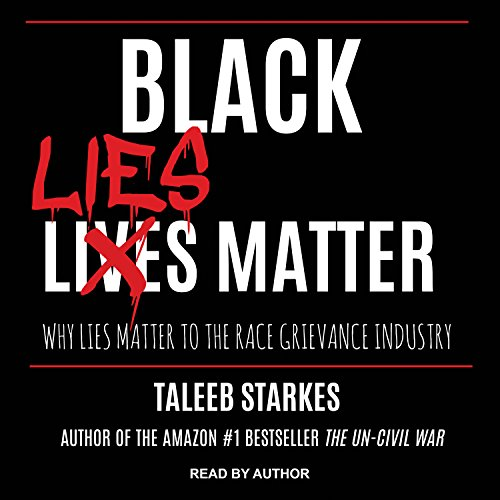Black Lies Matter audiobook cover art