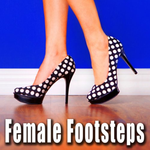 Women's Soft Hiking Boots Walking at Very Fast Pace on Concrete Floor
