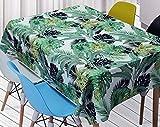 WSJIABIN Mantel de Tela Sencillo y Moderno Protección del Medio Ambiente A Prueba de Aceite Antifouling Mantel Rectangular Adecuado para Interiores y Exteriores Mantel Antimanchas Lavable 150x150cm
