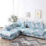 Cubierta para sofá con Cuerda de fijación,Funda de sofá elástica antideslizante, funda de cojín de sofá universal para todas las estaciones, funda a prueba de polvo para muebles sofá-Color 36_90-140c