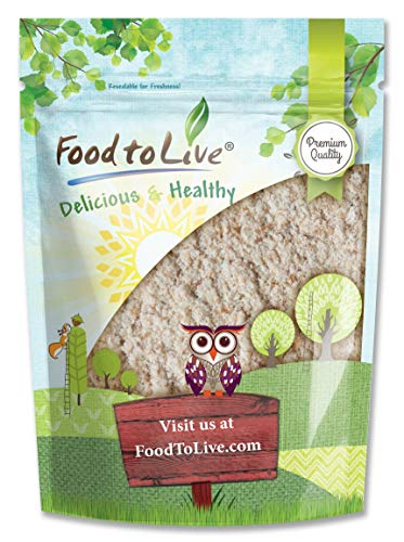 Whole Wheat Flour, 5 Pounds - All-Purpose, Stone Ground, Milled from Whole Grains, Unbleached, Vegan, Kosher, Bulk, High in Dietary Fiber, Manganese, and Selenium. Great for Bread, Cooking, Baking.