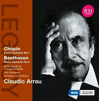 Chopin: Piano Concerto No. 1 - Beethoven: Piano Concerto No. 4