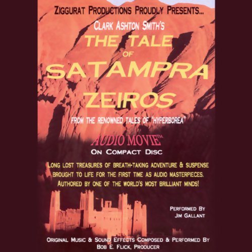 The Tale of Satampra Zeiros audiobook cover art