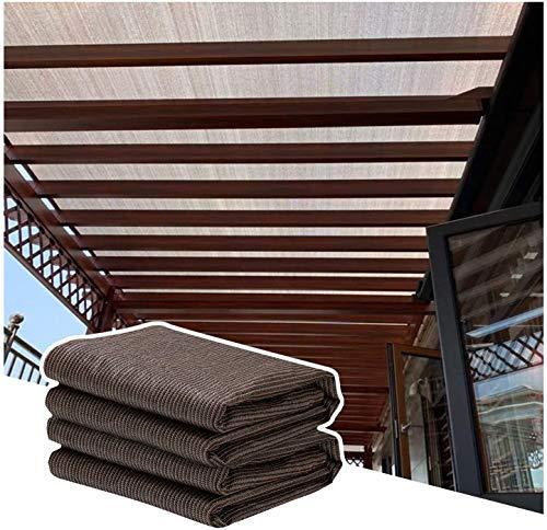 YJSMB Toldo Sombra, Malla Sombra Toldo Bloque UV Proteccion Solar con Ojales Ligero Cortavientos para Invernadero Exterior (Size : 0.9x5m/2.95x16.4ft)