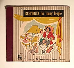 1947 Ultra Rare Beethoven for Young People Presents the Wonderland of Music Opus 20 Opus 49 : 3 10