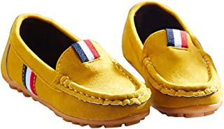 Hopscotch Boys Loafers in Yellow Colour
