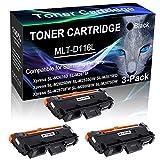 3-Pack Black Compatible Laser Printer Cartridge (High Yield) Replacement for Samsung MLT-D116L MLTD116L D116L Imaging Cartridge use for Samsung Xpress SL-M2885FW SL-M2875DW Printer