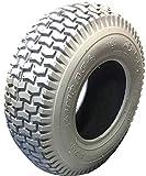 Impac Rollstuhlreifen 13 x 5.00-6,grau, 4 PR, Stabiler Reifenaufbau, Reifen für Elektromobil, Scooter, E-Rollstuhl kräftiges Blockprofil, Luftdruck 40 PSI, Tragkraft 440 lbs