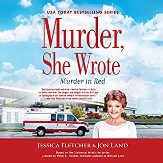 Murder, She Wrote: Murder in Red                   By:                                                                                                                                 Jessica Fletcher,                                                                                        Jon Land                               Narrated by:                                                                                                                                 Laurel Lefkow                      Length: 7 hrs and 34 mins     Not rated yet     Overall 0.0