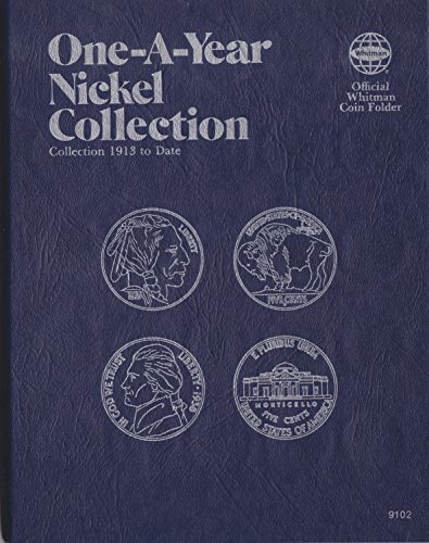 1913-DATE (1981) Buffalo & Jefferson Nickel 9102 One-A-Year COIN ALBUM BOOK #18