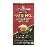 Miracle Tree's Energizing Moringa Infusion - Cherry Chamomile Tea | Super Caffeinated Blend |...