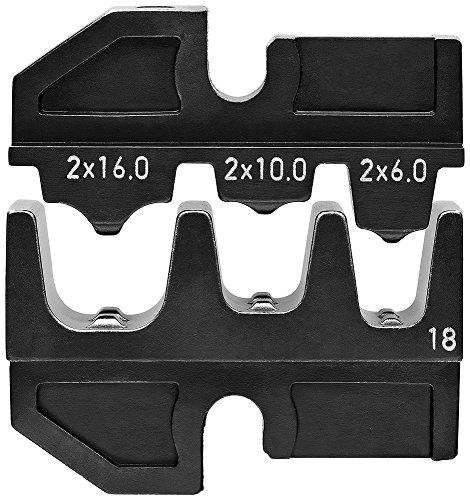 KNIPEX 97 49 18 Crimpeinsatz für Twin-Aderendhülsen