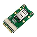 Mini PCI-E Adapter with SIM Card Slot for 3G/4G WLAN LTE GPS Card