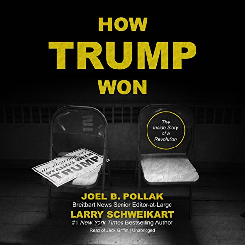 How Trump Won audiobook cover art