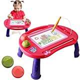 Toddler Toys for 2 3 Year Old Girls Gift,Erasable Magnetic Drawing Board, A Magna Etch Sketch Doodle Board for Girls Kids Toys Age 2 3,Learning Gifts for 2 3 Year Old Girls Boys,Child Birthday Gifts