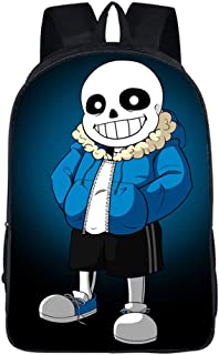 DUNHAO COS Anime Undertale Large School Bag Laptop Bag Cosplay Backpack 07