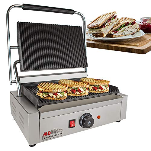 Learn More About ALDKitchen Panini Sandwich Press Grill | High-quality Durable Stainless Steel Const...