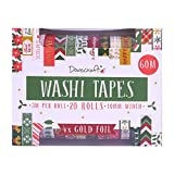 Washi Tape Sets - 20 Pieces Traditional