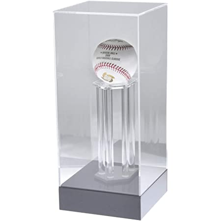 プラスアート サインボールケース/野球ボールケース トロフィー型 アクリル製 W140×D140×H325mm SP-BBT ディスプレイケース