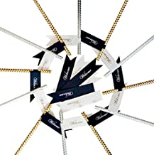 Paper Party Straws (gold)