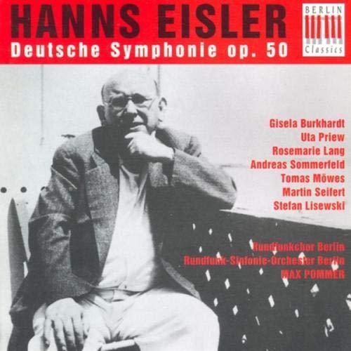 Bertolt Brecht-Hanns Julius Bittner : Eisler, H.: Deutsche Sinfonie (Pommer)