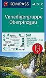 KOMPASS Wanderkarte Venedigergruppe; Oberpinzgau: 5in1 Wanderkarte 1:50000 mit Panorama, Aktiv Guide und Detailkarten inklusive Karte zur offline ... Skitouren. (KOMPASS-Wanderkarten, Band 38)
